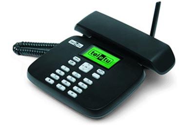 Vecchio telefono collegamento
